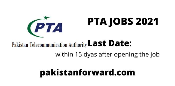 latest PTA Jobs 2021 Advertisement | Apply Online