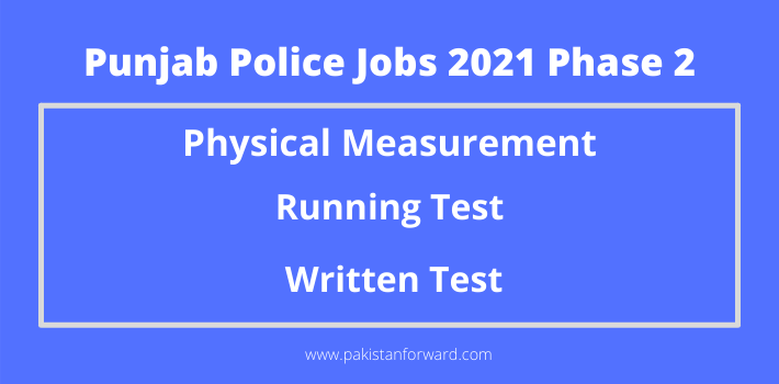 Requirments to Pass Punjab Police Physical Measurement &  Running