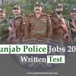 Punjab Police (Phase 2)  written Test Date