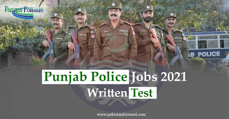 Punjab Police jobs| (Phase 2)  written Test Date 2021