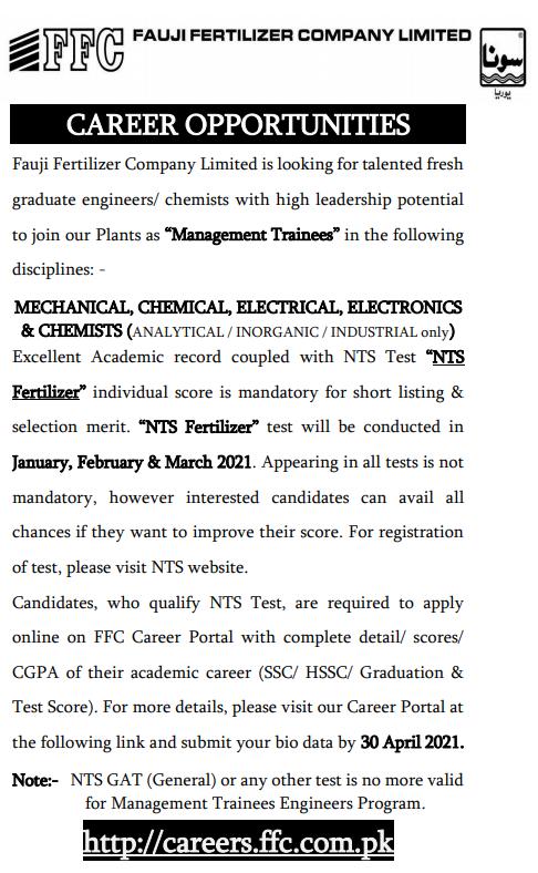 ffc jobs 2021