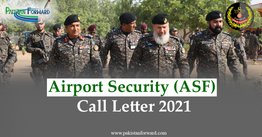 ASF Jobs 2021 Call letter