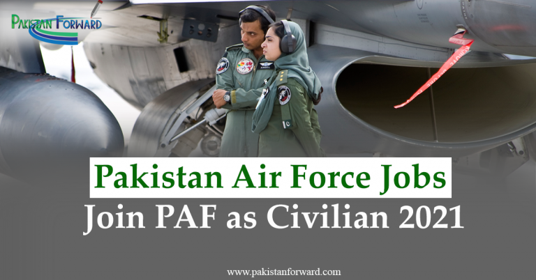 Latest PAF jobs 2021 | Join Pakistan Air Force advertisement | Apply online
