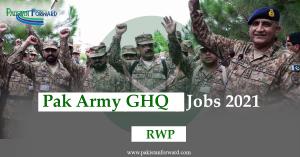GHQ Jobs 2021 | Latest General Headquarter  Advertisement | Apply Online