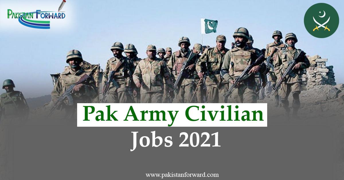 civilian pak army jobs 2021