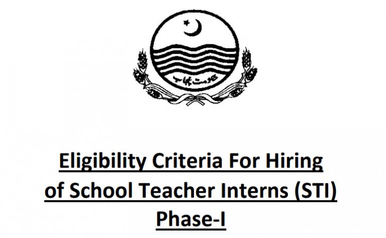 STI jobs 2021 | Latest School Teacher Internee Advertisement, Apply Online