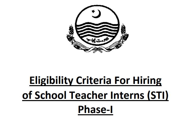 School teacher internee STI jobs 2021