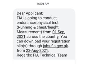 New FIA test date